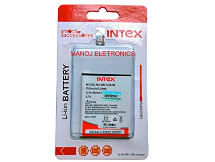 reputable site 42055 7136c Intex Aqua Speed battery