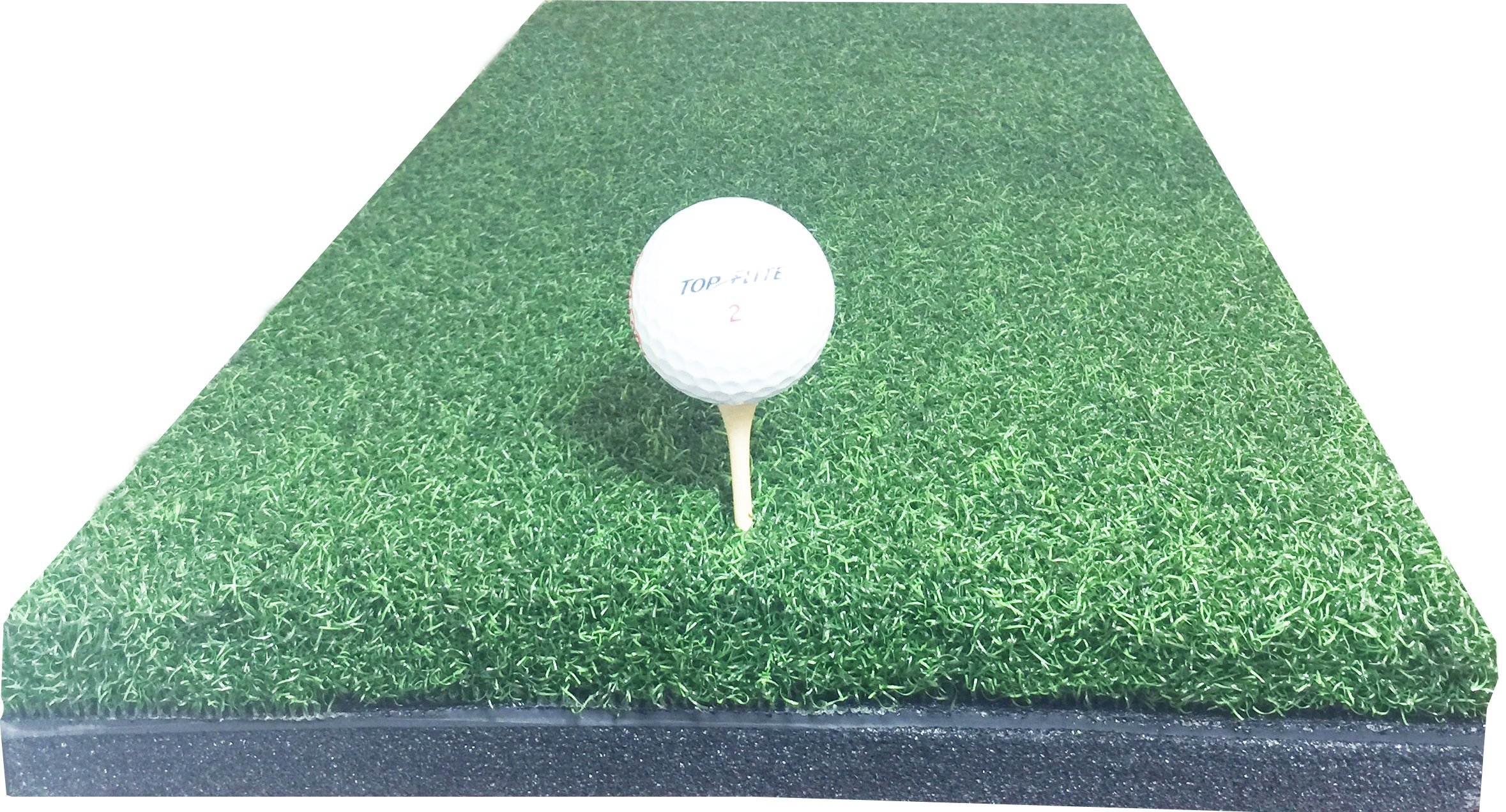 10'' x 24'' Golf Chipping Driving Range Practice Hitting Mat Holds A Wooden Tee