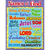 "Trend Enterprises Names of God Learning Chart (1 Piece), 17"" x 22"""