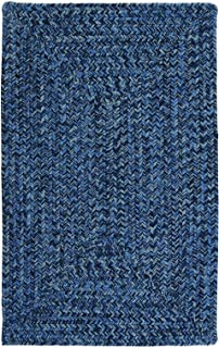 product image for Colonial Mills Floor Decorative Catalina Blue Wave Area Rug Rectangle 2'x8'