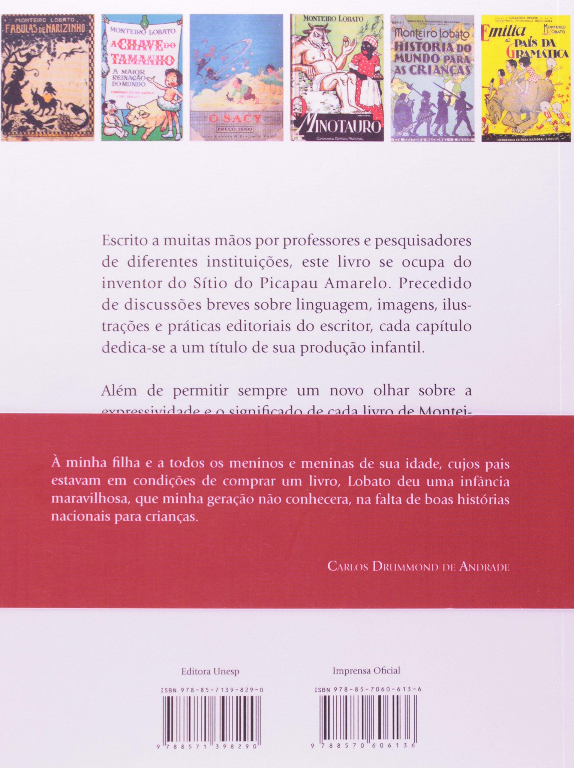 Monteiro Lobato, Livro a Livro (Em Portuguese do Brasil): Marisa Lajolo: 9788571398290: Amazon.com: Books