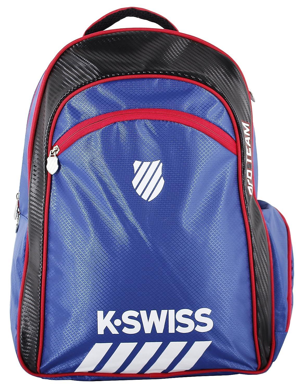 K-Swiss Hypercourt Pro Team Bagpack, Color Azul,Negro Mochila, Pádel, Talla Única