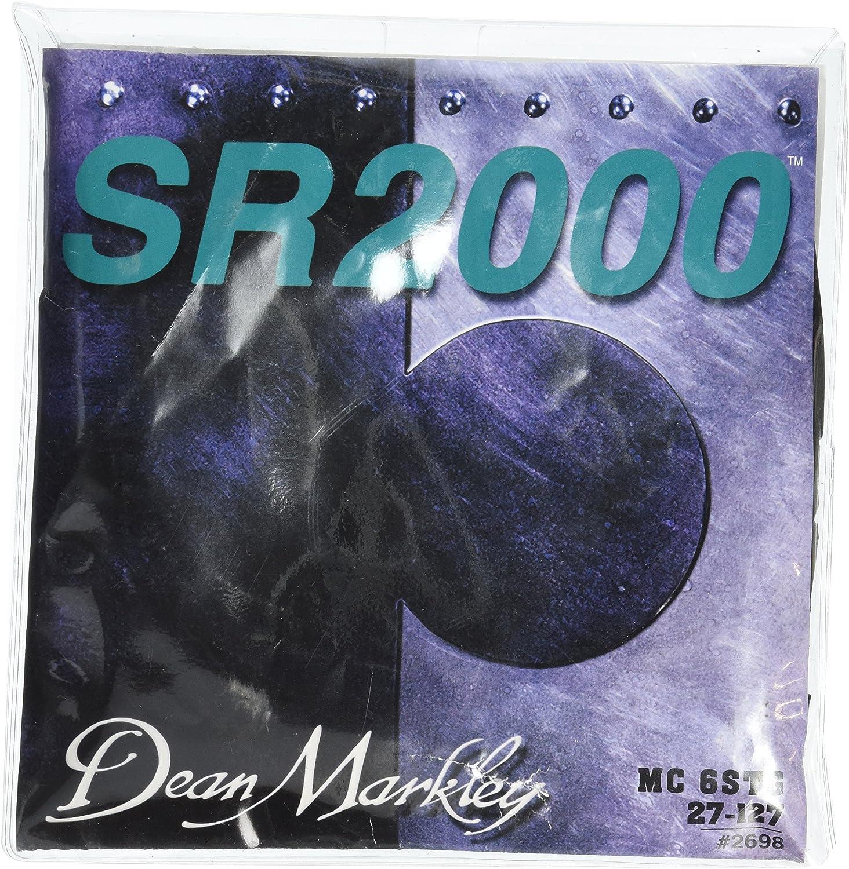 Dean Markley SR2000se lee 6cuerdas Bajo eléctrico Cuerdas, 27–127, 2698