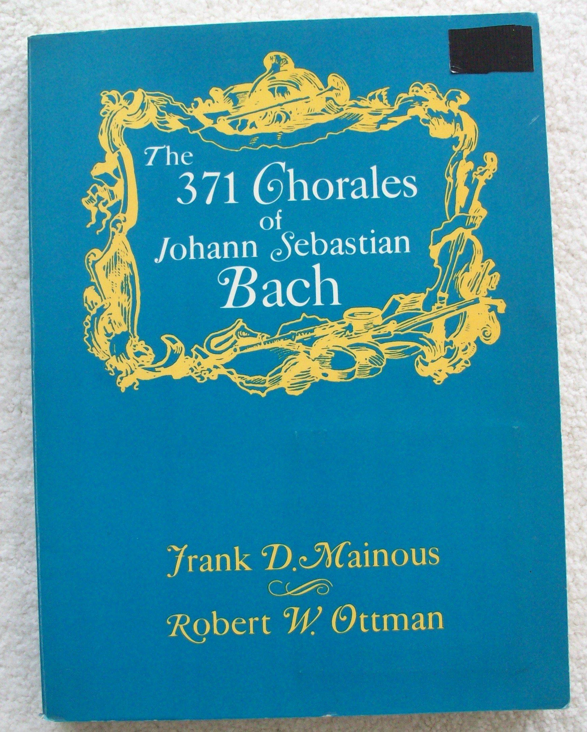 101 Chorales Harmonized By J S Bach Belwin
