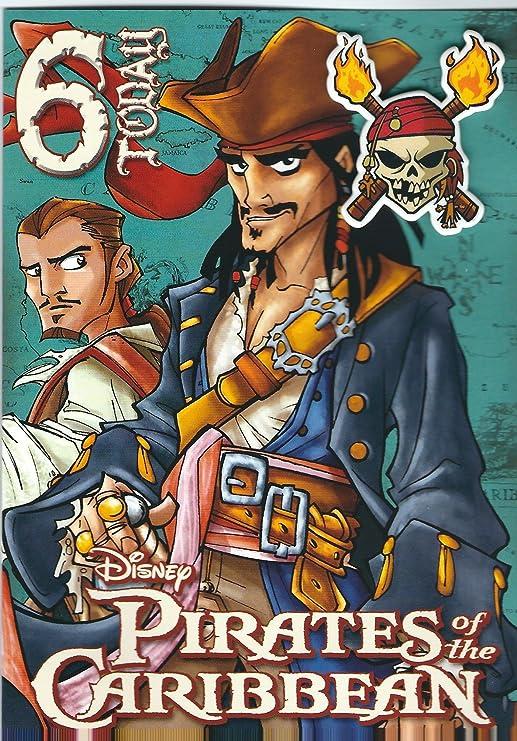 Piratas del Caribe Tarjeta de cumpleaños edad 6: Amazon.es ...
