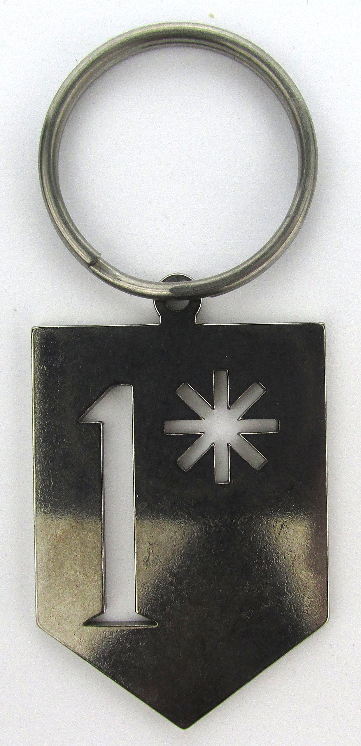 1 (Ass to Risk) Keychain by G.I. Jewelry (Image #1)