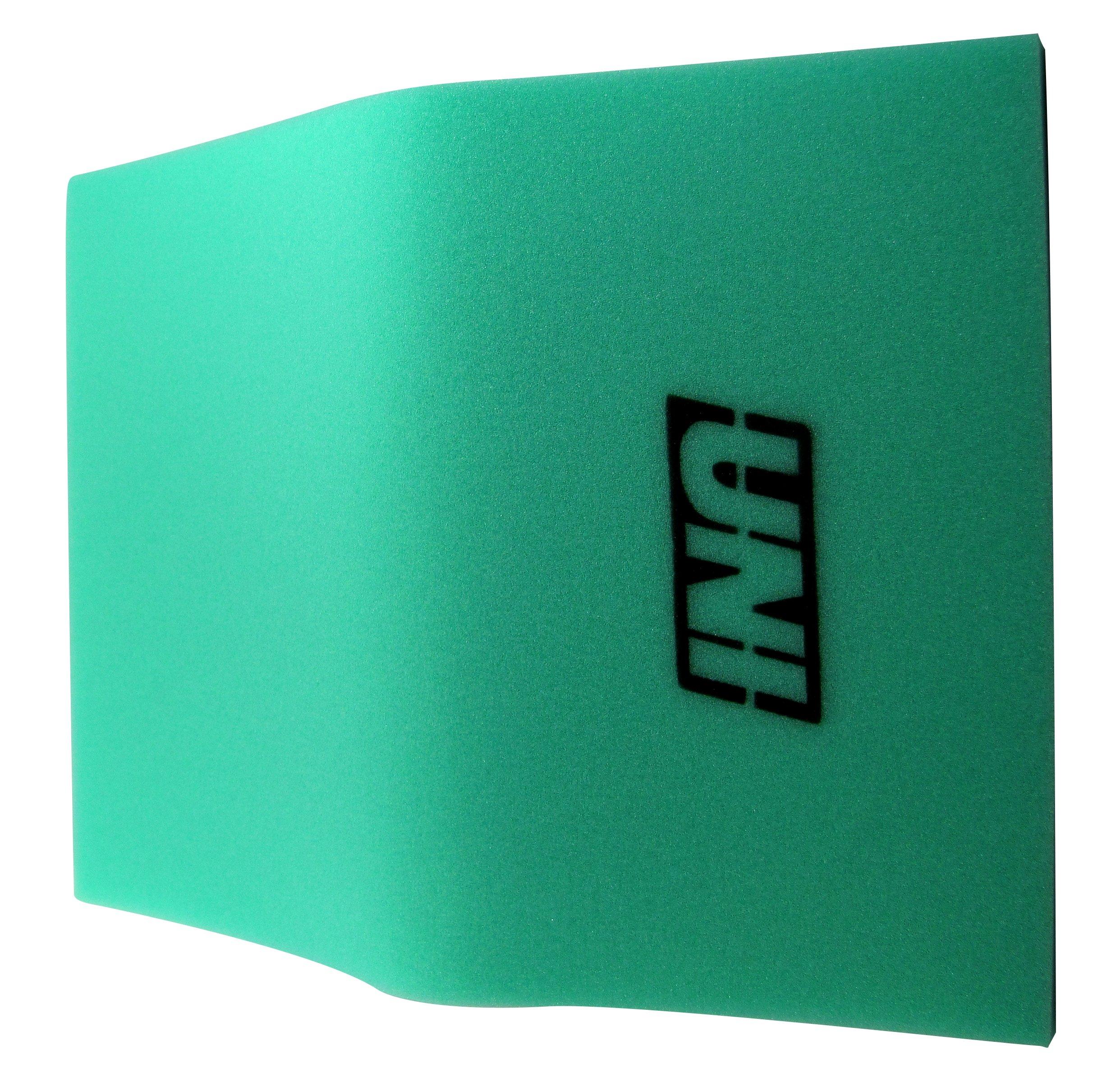 Uni Filter BF1 12'' X 16'' X 5/8'' 65-PPI Green Fine Foam