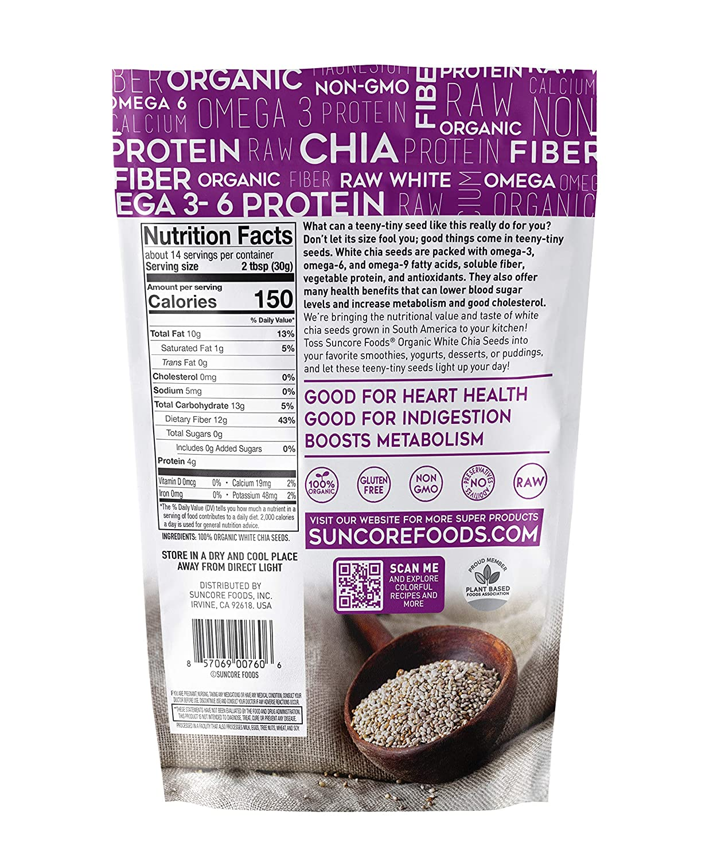 Suncore Alimentos – 100 % semillas de chia de alta calidad ...