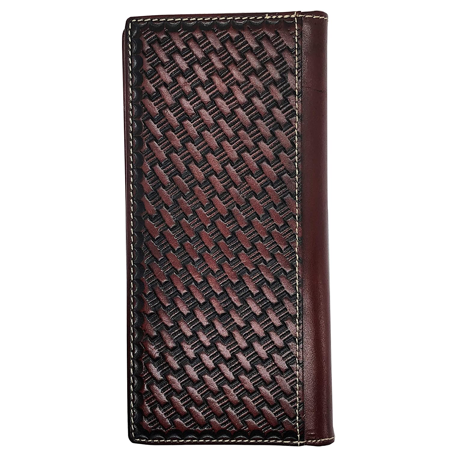Amazon.com: Cartera de piel para hombre, estilo occidental ...