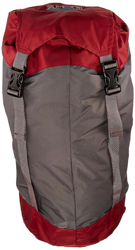 Kelty Packsack - Funda de compresión para saco de dormir, color rojo, talla M