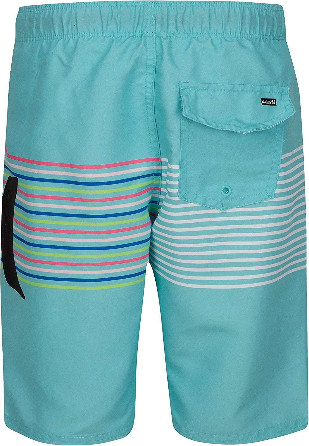 Hurley Boys Classic Board Shorts Fire Pink 2T
