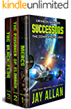 Crimson Worlds Successors: The Complete Trilogy (English Edition)