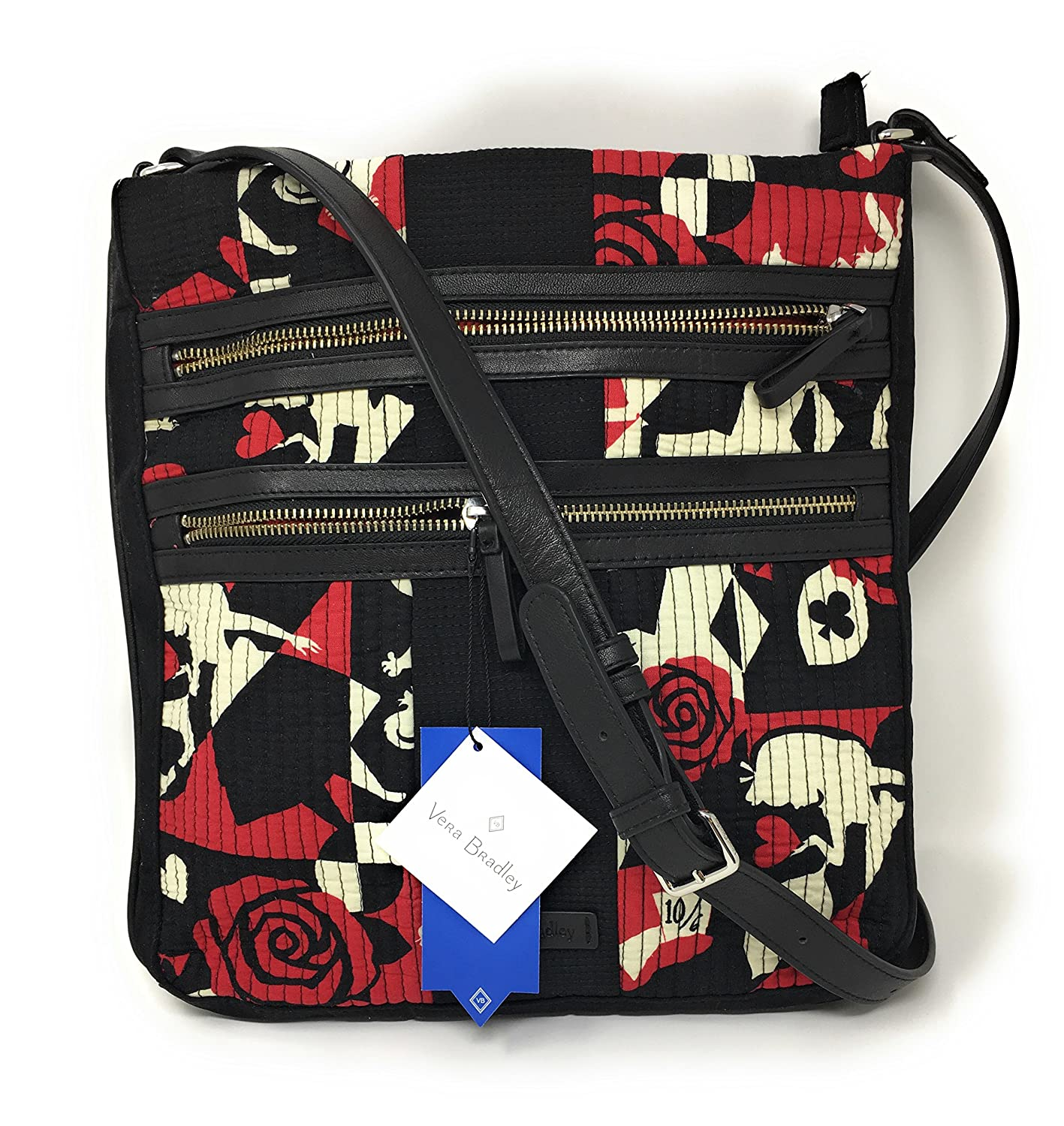 Vera Bradley Disney Parks Alice in Wonderland Hipster Crossbody Painting  the Roses  Handbags  Amazon.com 101c149598b82