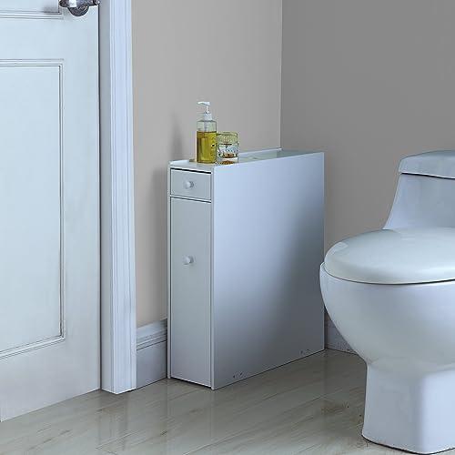 Proman Products Bathroom Floor Cabinet Wood