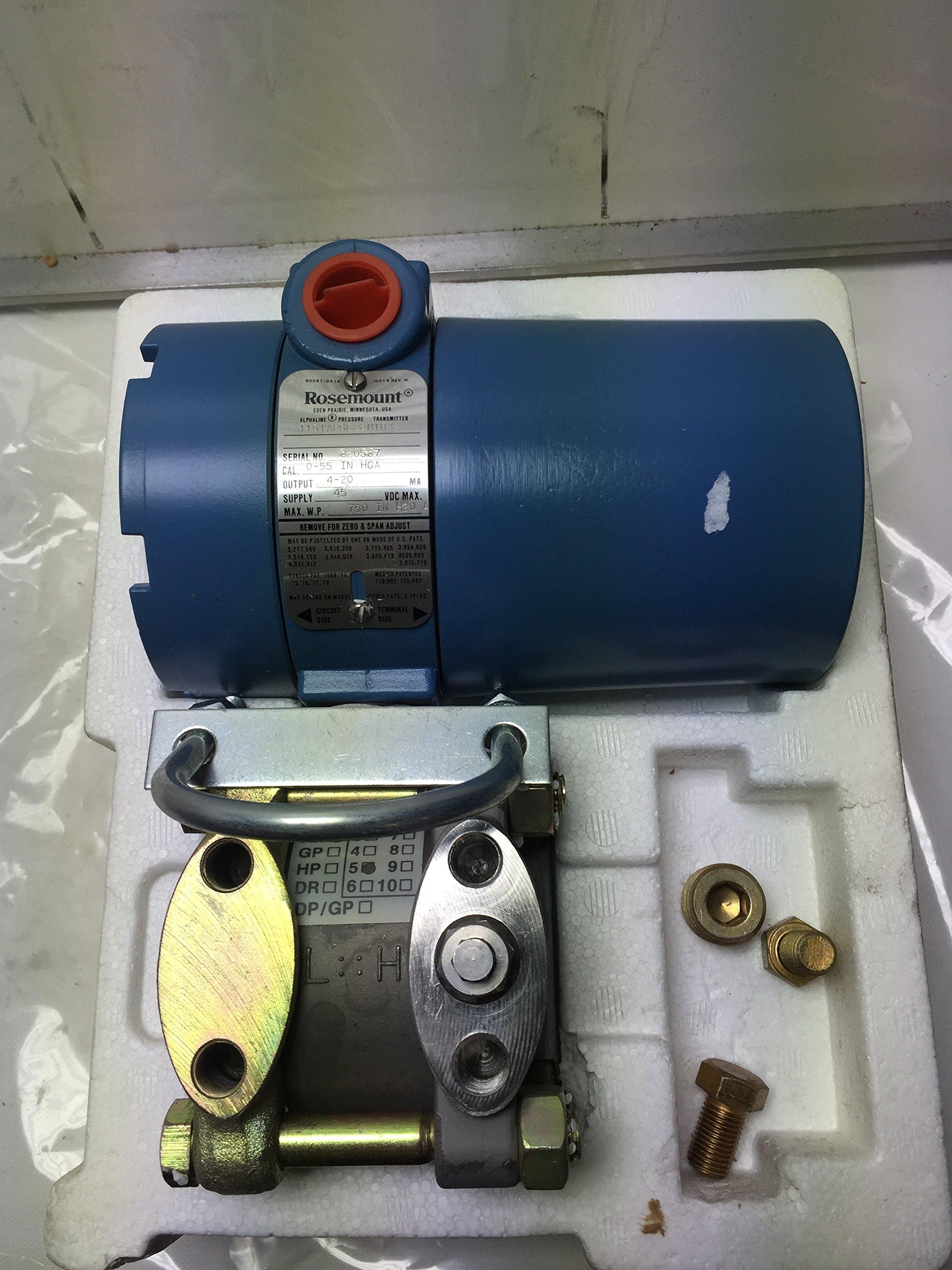 1151Ap5E22M1B3 Pressure Transmitter