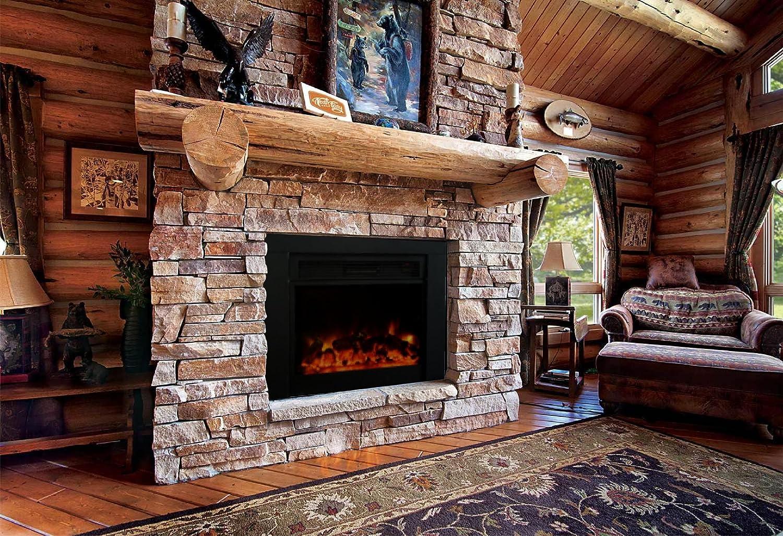 Fantastic Y Decor Fp920 36 Electric Fireplace Insert Large Black Download Free Architecture Designs Lectubocepmadebymaigaardcom