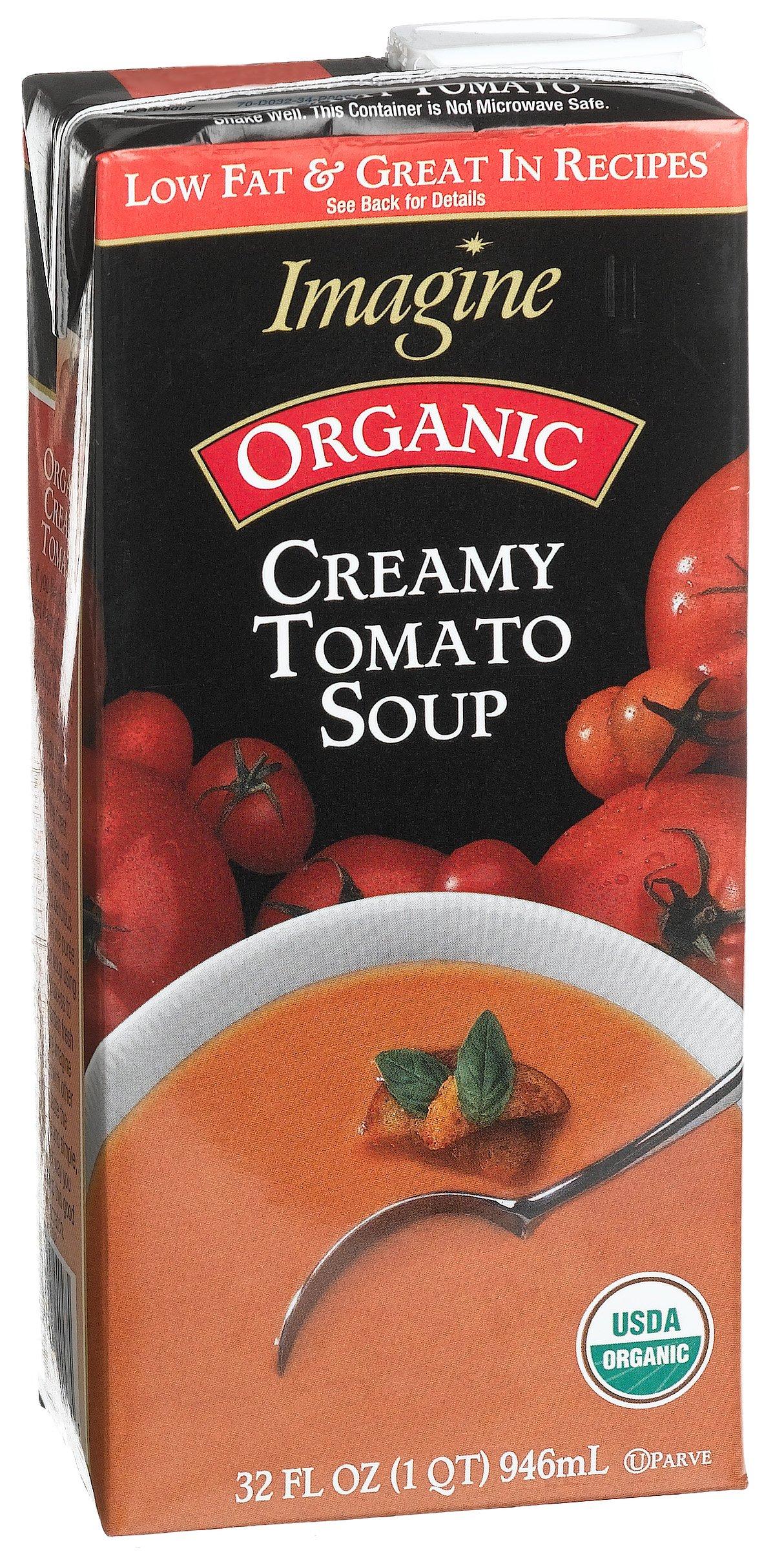 Imagine Creamy Tomato Soup, Organic, 32 oz by Imagine