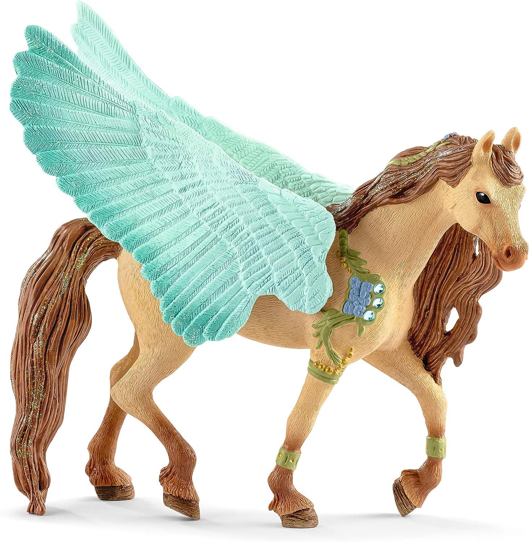 Fantasy Bayala 70573 Schleich Decorated Unicorn Mare Plastic Figure