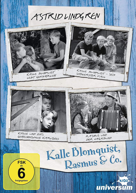 Astrid Lindgren Kalle Blomquist Rasmus & Co Original Schwarz