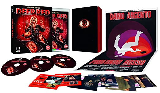 Deep Red 4k Remaster Blu-Ray + Soundtrack CD Reino Unido Blu ...