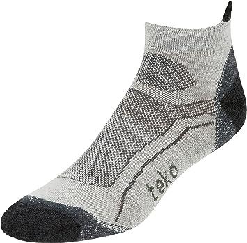 Teko Calcetines para Hombre (Bajos, Lana de Merino orgánica/Running Calcetines, Hombre
