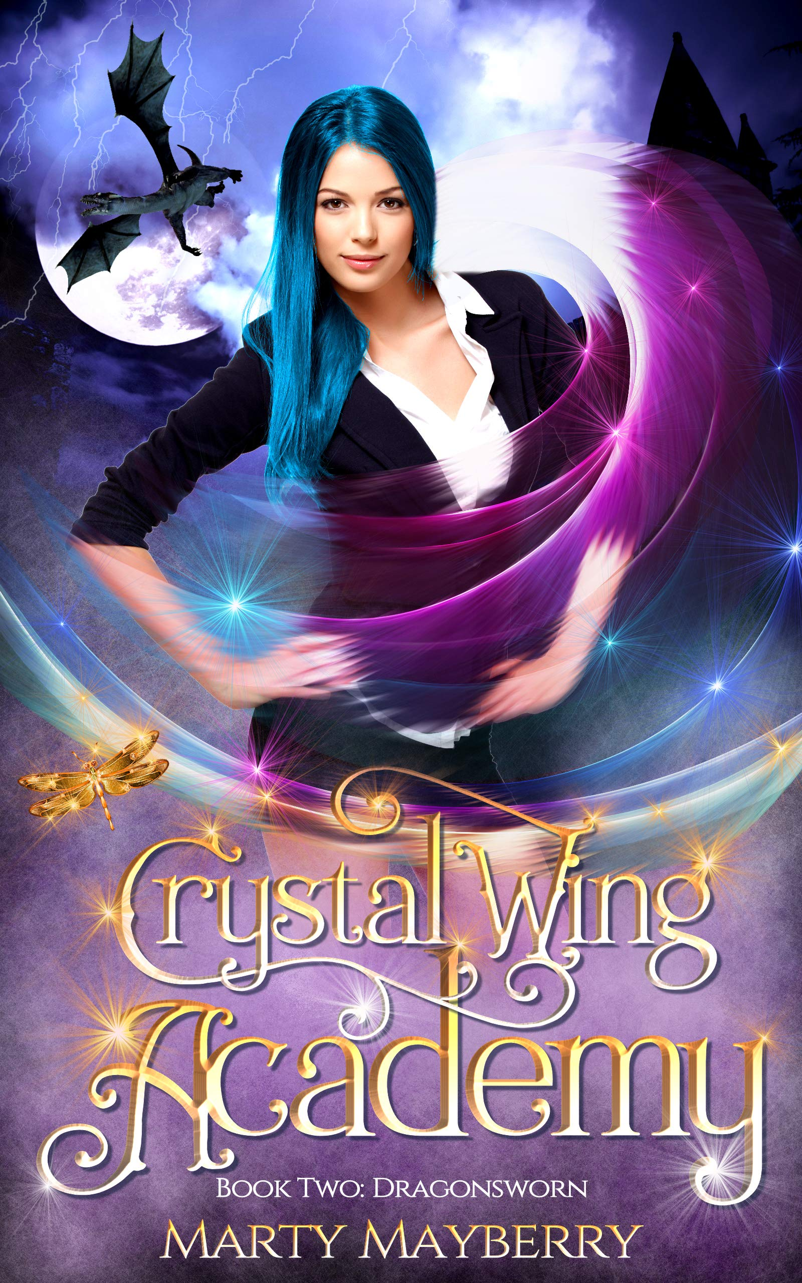 Crystal Wing Academy: Book Two: Dragonsworn (English Edition)