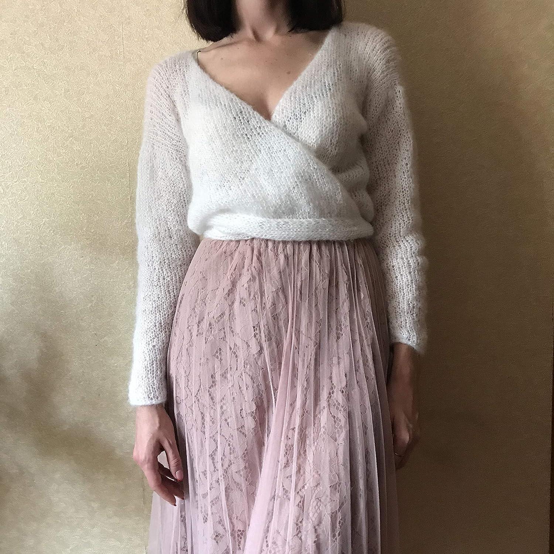 handmade mohair sweater to order Women/'s mohair sweater