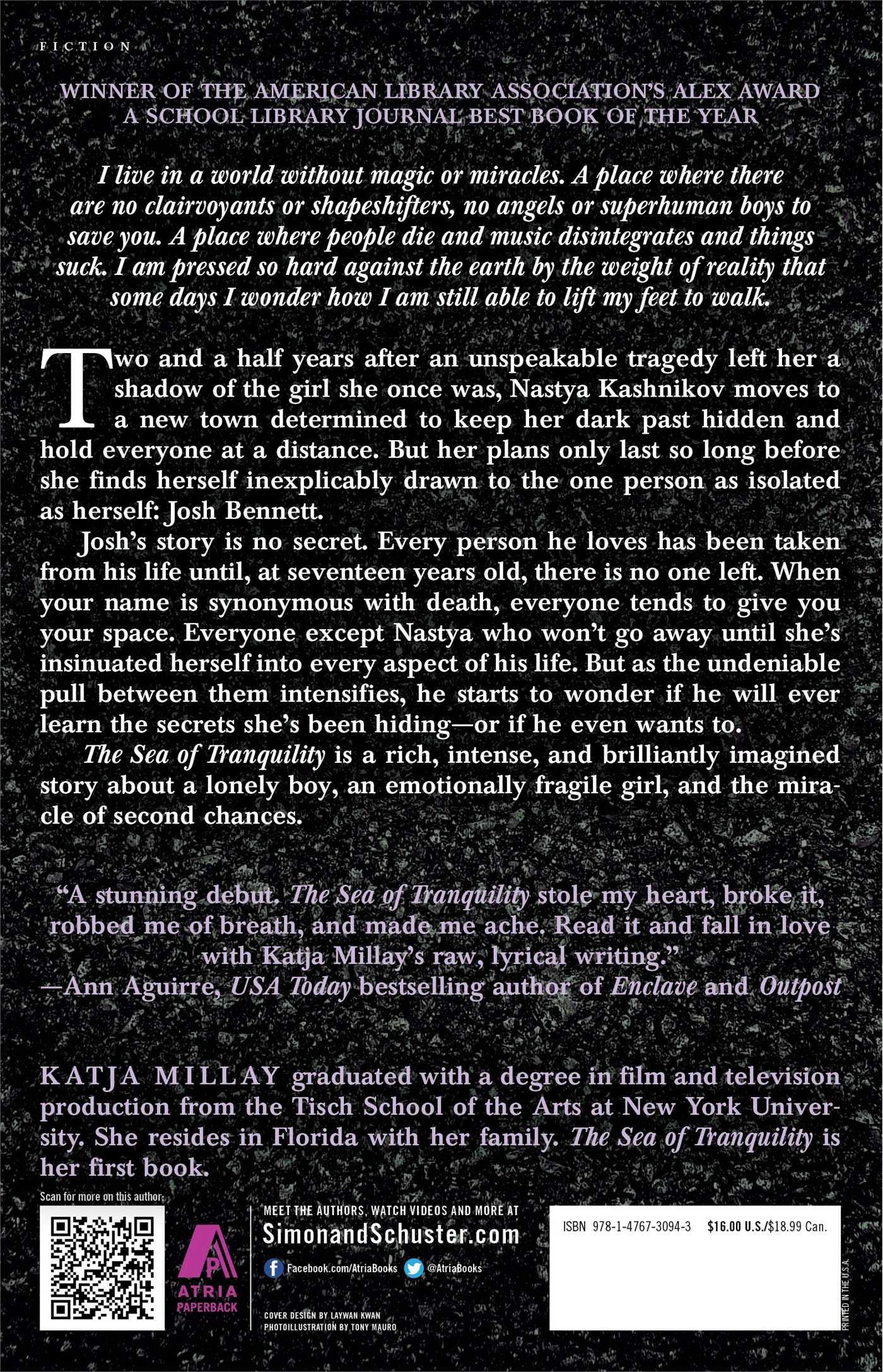 The Sea Of Tranquility: A Novel: Katja Millay: 9781476730943: Amazon:  Books