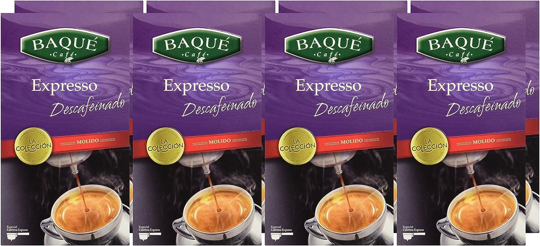 Cafés Baqué Café Molido La Colección Expresso Descafeinado - 250 ...