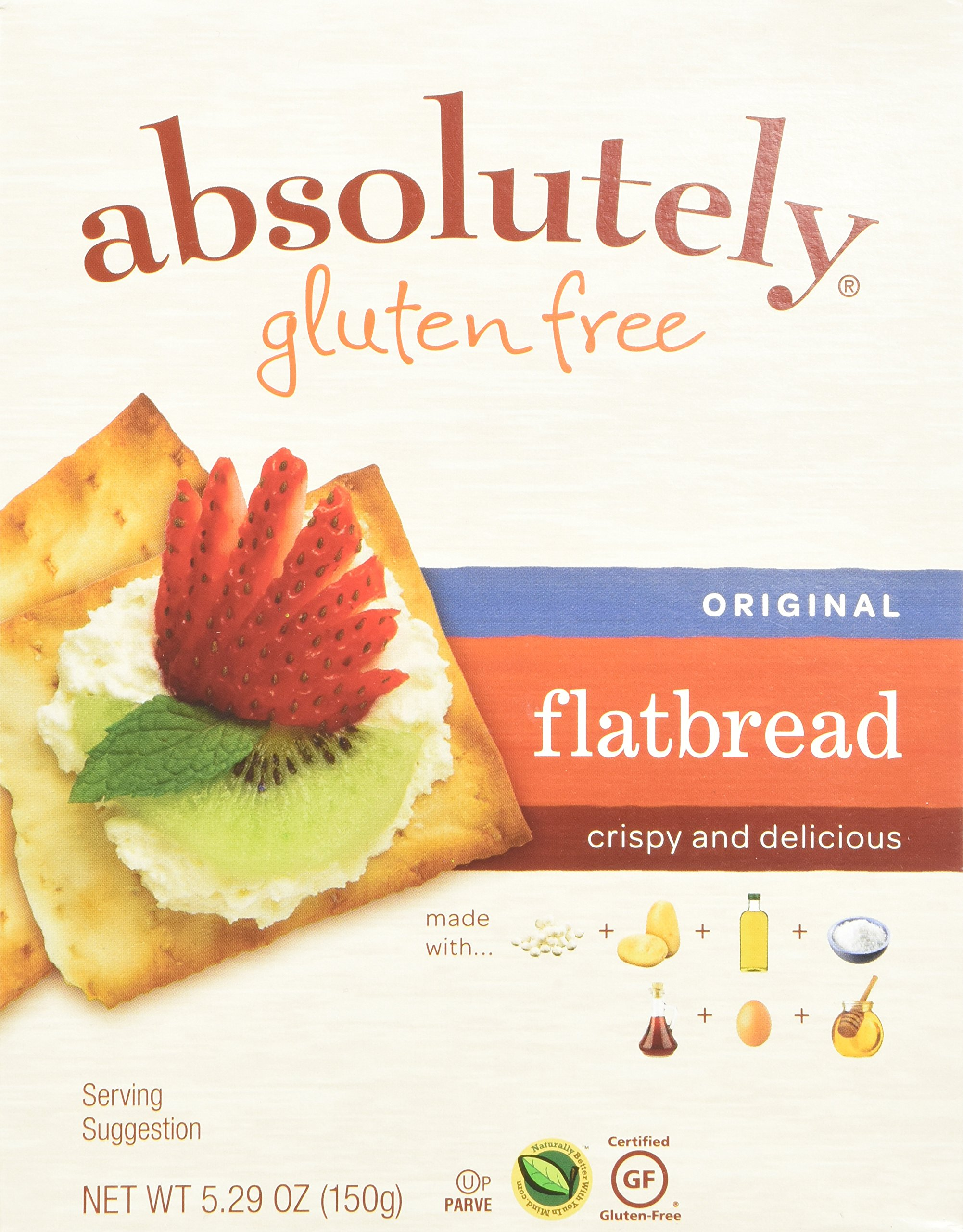 Absolutely Gluten Free Original Flatbread, 5.29-Ounce (3-Pack)