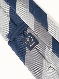 Silk Stripe Tie 21-44-6006-380: Grey