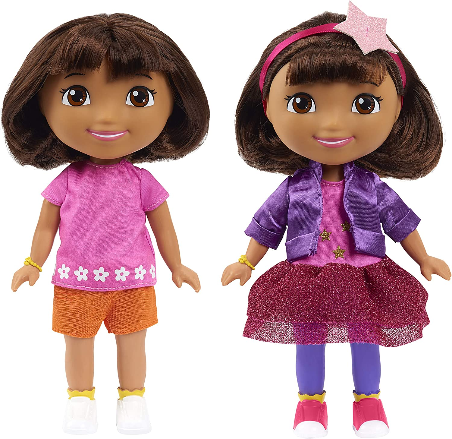 """Toy Gift NEW 2020 Dora the Explorer Adventure Doll Classic 8/"""" Inches Tall"""