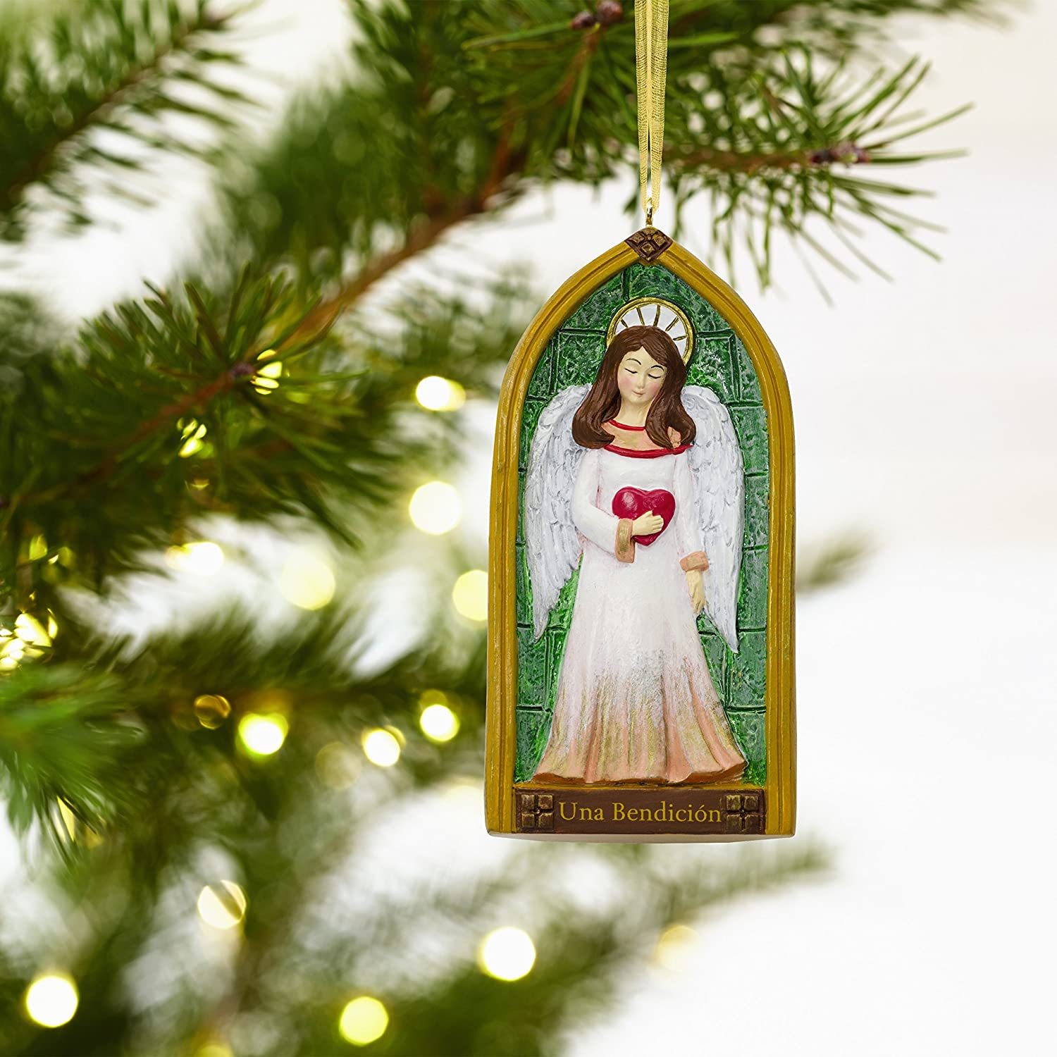 Amazon Hallmark VIDA Christmas Ornament Blessing Angel Church