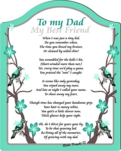 Missing Dad Poems 2