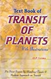 Text Book Of Transit Of Planets With Ill.