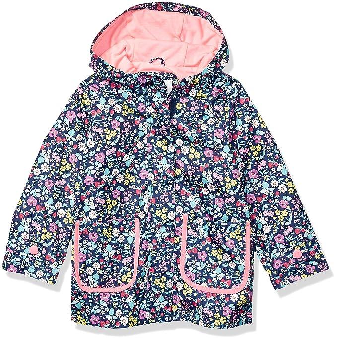 04d12c3f6fa Carter's - Chamarra Impermeable para niña, Ditsy Floral on Navy, ...