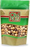 Hazelnuts Roasted Salted Healthy Nuts, Hazelnuts Filberts Dry Roasted with NO ADDED OILS - Oh! Nuts (2 LB HAzelnuts Roasted Salted)