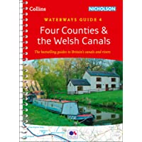 Collins Nicholson Waterways Guides - Four Counties & The Welsh Canals No. 4 [New Edition]