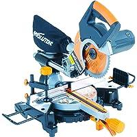 Evolution Rage 3-S+ Multi-Purpose Sliding Mitre Saw with Plus Pack, 210 mm (230 V)