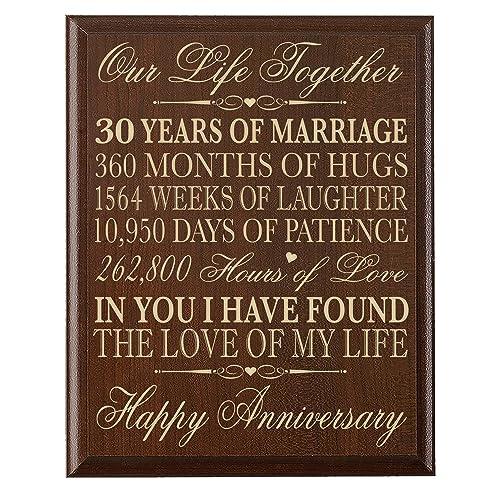 30 Wedding Anniversary Gift Ideas: 30 Years Anniversary Gifts: Amazon.com