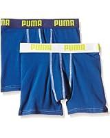 PUMA Jungen Bodywear Basic Boxer 2P