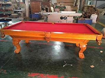 Kunibert 8 Ft. Billard Winston Table de Billard avec Plateau ...