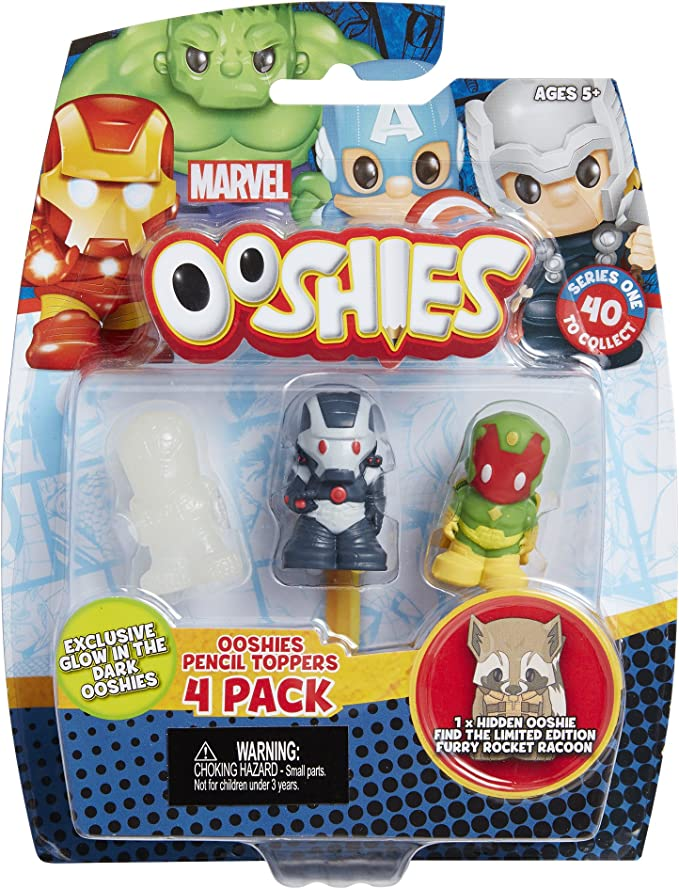 4 to Choose from Marvel Series 4 Ooshies 7 Pack
