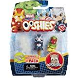 "Ooshies Set 3 ""Marvel Series 1"" Action Figure (4 Pack)"
