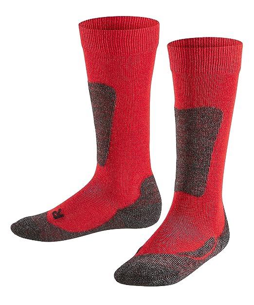 FALKE Kinder Aktive Ski Socken für winterliche Sportaktivitäten 1 Paar-11535 warme Outdoor Kniestrümpfe