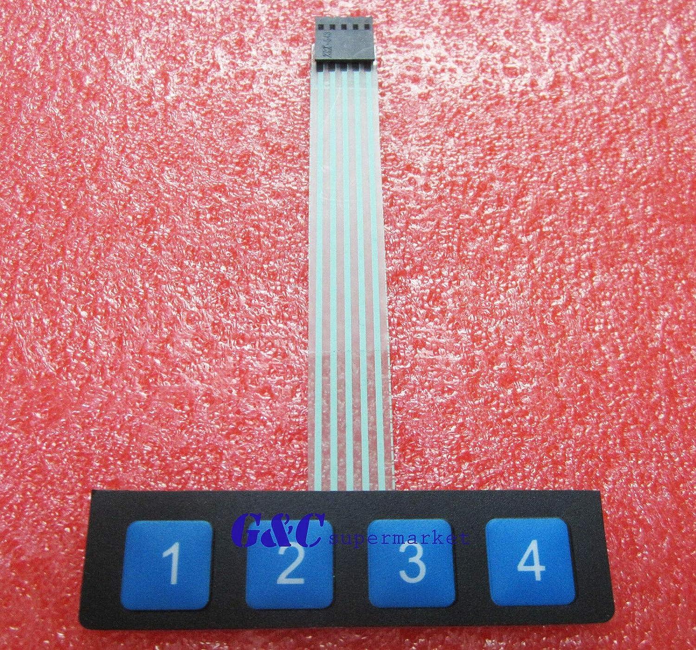 [XOTG_4463]  5PCS 1x4 1*4 Key Matrix Membrane Switch Control Panel Slim Keyboard Keypad  Business & Industrial Other Electronic Components fundacion.traki.com | Membrane 1x4 Keypad Wiring Diagram |  | Fundación Traki