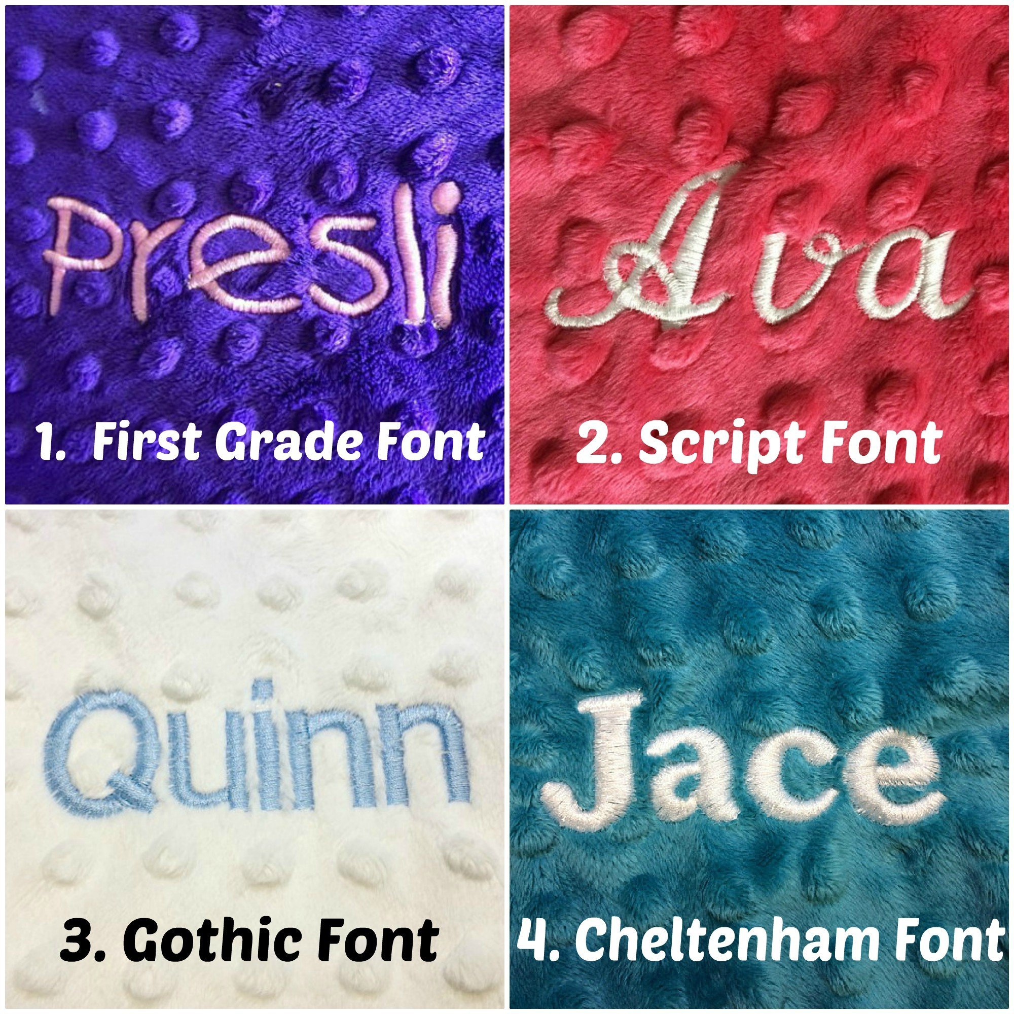 Personalized Minky Pillow cover, Minky Pillowcase, Baby pillow cover, Toddler pillowcase