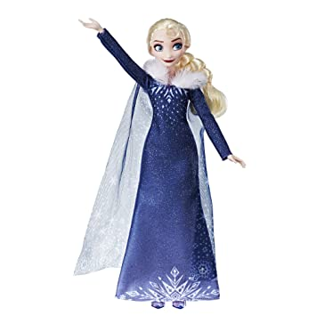 Amazon.com: Disney Frozen Olafs Frozen Adventure Elsa Doll ...
