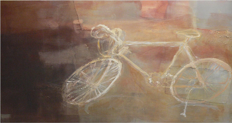 Cuadro moderno de bicicleta vintage - clásica, para decoración de ...