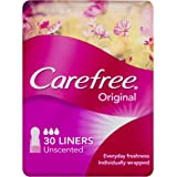 Carefree Pantyliner Original Unscented, 30ct